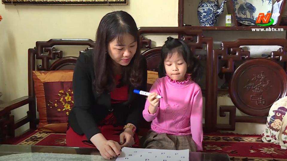 Vì trẻ thơ: Giúp trẻ mầm non học tại nhà hiệu quả