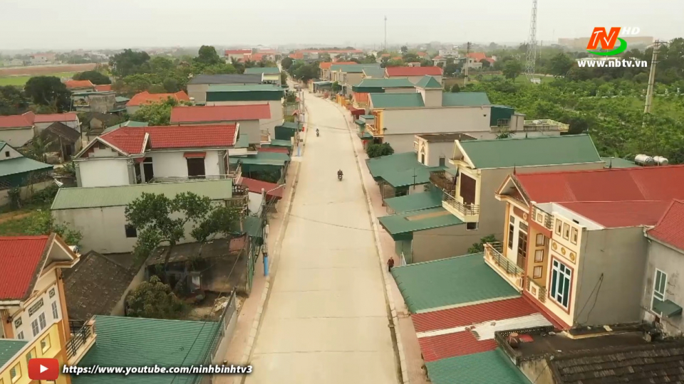 Xây dựng Nông thôn mới: Hoàn thiện tiêu chí giao thông và nhà văn hóa tại các xã NTM ở TP. Ninh Bình