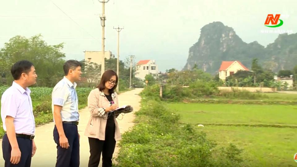 Xây dựng nông thôn mới: Phú Sơn phấn đấu về đích nông thôn mới vào cuối năm 2020