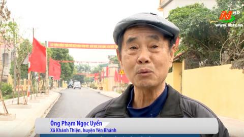 Xây dựng Nông thôn mới: Người dân hài lòng kết quả xây dựng nông thôn mới