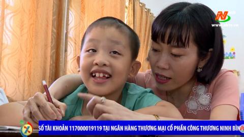 Vòng tay nhân ái: Hỗ trợ gia đình chị Điền Thị Hưng, xã Ninh Phúc, thành phố Ninh Bình