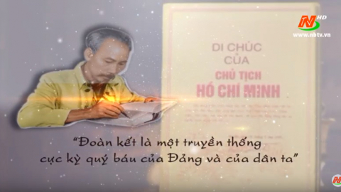 50 năm thực hiện Di chúc của Chủ tịch Hồ Chí Minh-Tập 1:Đảng bộ Ninh Bình đoàn kết theo lời Bác dạy
