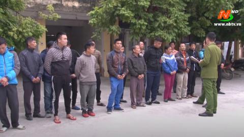 An ninh Ninh Bình 31/12/ 2020