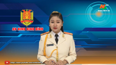 An ninh Ninh Bình tháng 1/2021