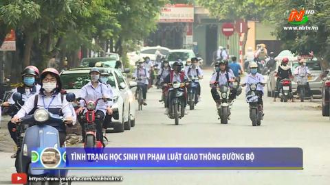An toàn giao thông vì bình yên cuộc sống: Nhiều học sinh vi phạm Luật Giao thông
