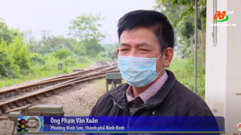 ATGT vì bình yên cuộc sống: Cần chấn chỉnh tình trạng vi phạm hành lang ATGT đường sắt
