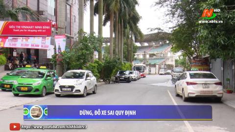 ATGT vì bình yên cuộc sống: Dừng đỗ xe sai quy định