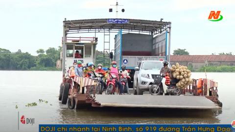 ATGT vì bình yên cuộc sống: Kim Sơn đảm bảo an toàn giao thông các bến đò ngang