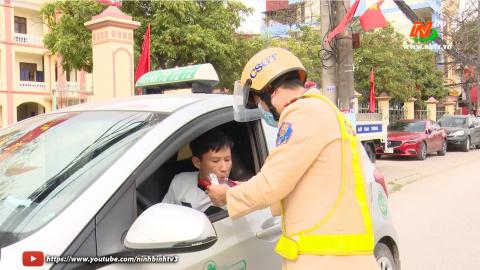 ATGT vì bình yên cuộc sống: Kim Sơn đảm bảo ATGT sau Tết Nguyên đán