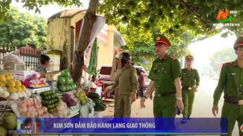 ATGT vì bình yên cuộc sống: Kim Sơn giải tỏa hành lang an toàn giao thông