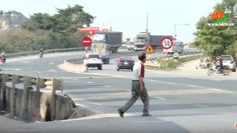 ATGT vì bình yên cuộc sống: Mất an toàn giao thông tại cầu Đoan Vỹ