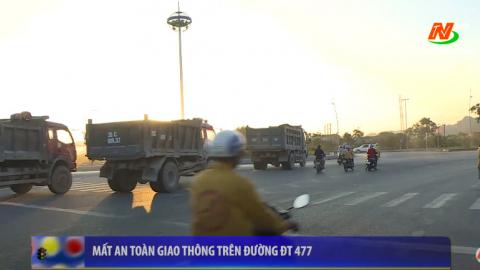ATGT vì bình yên cuộc sống: Mất an toàn giao thông trên đường DT 477
