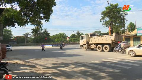 ATGT vì bình yên cuộc sống: Nguy hiểm giao thông khu vực ngã ba chợ chiều