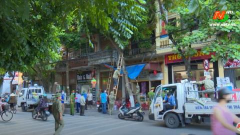 ATGT vì bình yên cuộc sống: Phường Nam Thành đảm bảo hành lang an toàn giao thông