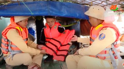ATGT vì bình yên cuộc sống: Tăng cường tuyên truyền an toàn giao thông đường thủy
