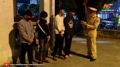 ATGT vì bình yên cuộc sống: Thành phố Ninh Bình xử lý thanh thiếu niên vi phạm giao thông