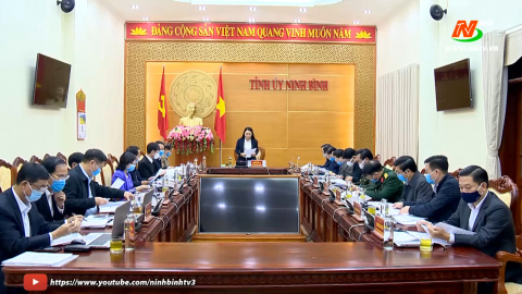 Ban Thường vụ Tỉnh ủy thảo luận nhiều nội dung quan trọng