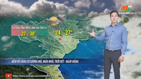 Bản tin Dự báo thời tiết mới nhất ngày - 01/03/2021