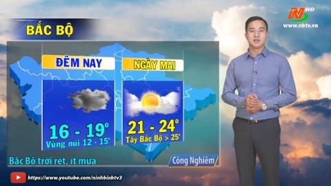 Bản tin Dự báo thời tiết mới nhất ngày - 02/12/2020