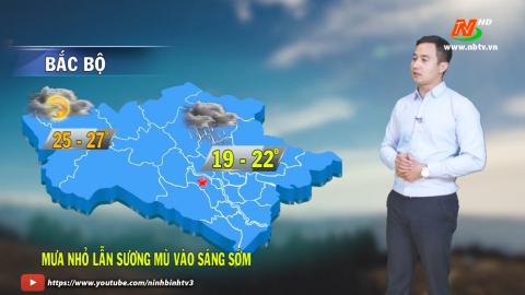 Bản tin Dự báo thời tiết mới nhất ngày - 03/03/2021