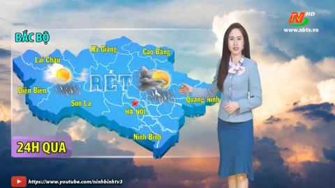 Bản tin Dự báo thời tiết mới nhất ngày - 04/03/2021