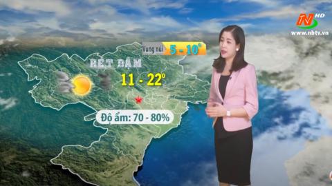 Bản tin Dự báo thời tiết mới nhất ngày - 05/12/2020