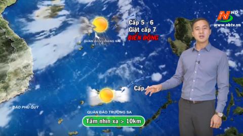 Bản tin Dự báo thời tiết mới nhất ngày - 06/03/2020