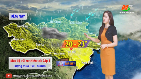 Bản tin Dự báo thời tiết mới nhất ngày - 07/04/2021
