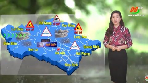 Bản tin Dự báo thời tiết mới nhất ngày - 06/08/2020