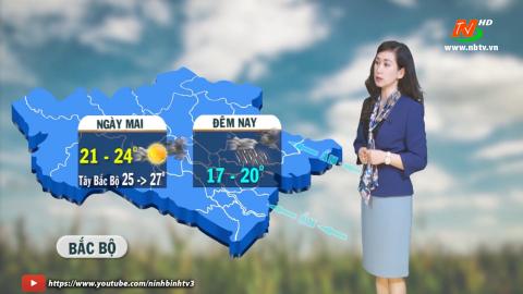 Bản tin Dự báo thời tiết mới nhất ngày - 08/03/2021