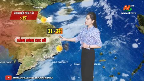 Bản tin Dự báo thời tiết mới nhất ngày - 08/5/2021