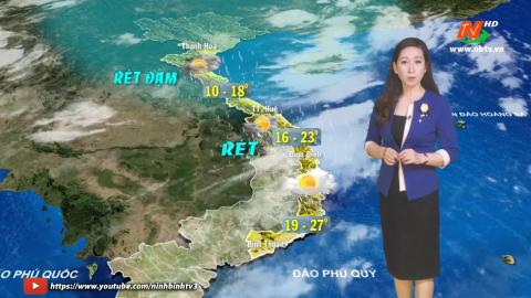 Bản tin Dự báo thời tiết mới nhất ngày - 09/01/2021