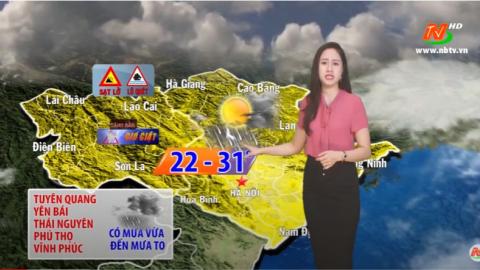 Bản tin Dự báo thời tiết mới nhất ngày - 09/09/2020
