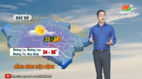 Bản tin Dự báo thời tiết mới nhất ngày - 09/5/2021