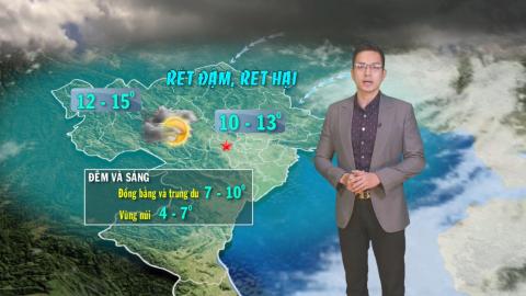 Bản tin Dự báo thời tiết mới nhất ngày - 10/01/2021