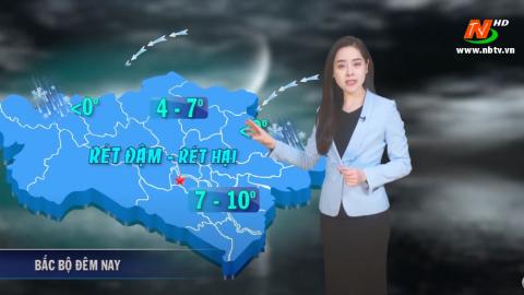 Bản tin Dự báo thời tiết mới nhất ngày - 11/01/2021