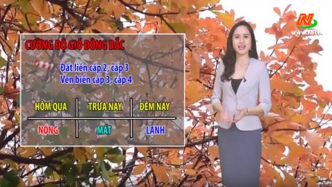Bản tin Dự báo thời tiết mới nhất ngày - 11/03/2020