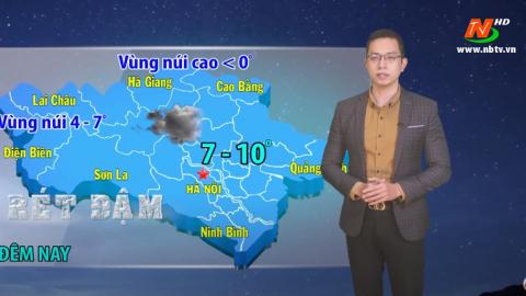 Bản tin Dự báo thời tiết mới nhất ngày - 12/01/2021