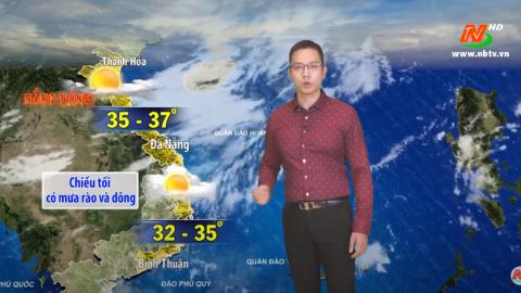 Bản tin Dự báo thời tiết mới nhất ngày - 12/08/2020