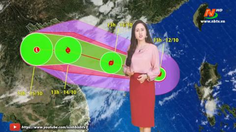 Bản tin Dự báo thời tiết mới nhất ngày - 13/10/2020