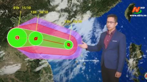 Bản tin Dự báo thời tiết mới nhất ngày - 14/10/2020