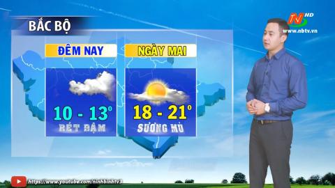 Bản tin Dự báo thời tiết mới nhất ngày - 15/01/2021