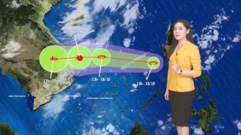 Bản tin Dự báo thời tiết mới nhất ngày - 16/10/2020