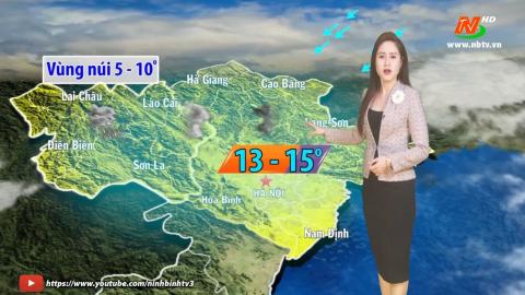 Bản tin Dự báo thời tiết mới nhất ngày - 17/01/2021