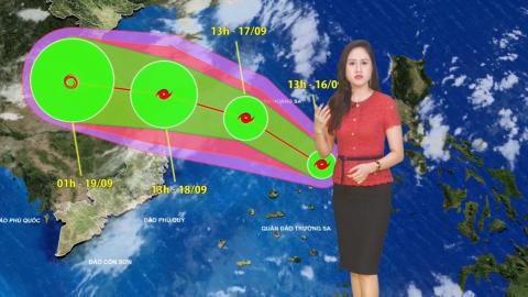 Bản tin Dự báo thời tiết mới nhất ngày - 17/09/2020