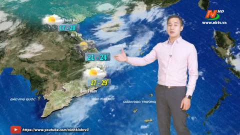 Bản tin Dự báo thời tiết mới nhất ngày - 19/01/2021