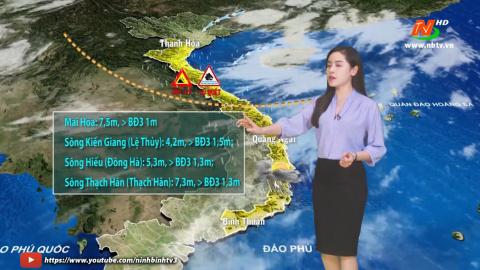 Bản tin Dự báo thời tiết mới nhất ngày - 19/10/2020