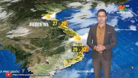 Bản tin Dự báo thời tiết mới nhất ngày - 19/11/2020