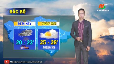 Bản tin Dự báo thời tiết mới nhất ngày - 20/04/2021