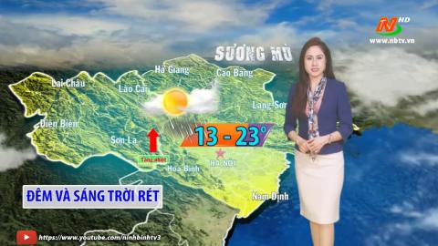 Bản tin Dự báo thời tiết mới nhất ngày - 21/01/2021
